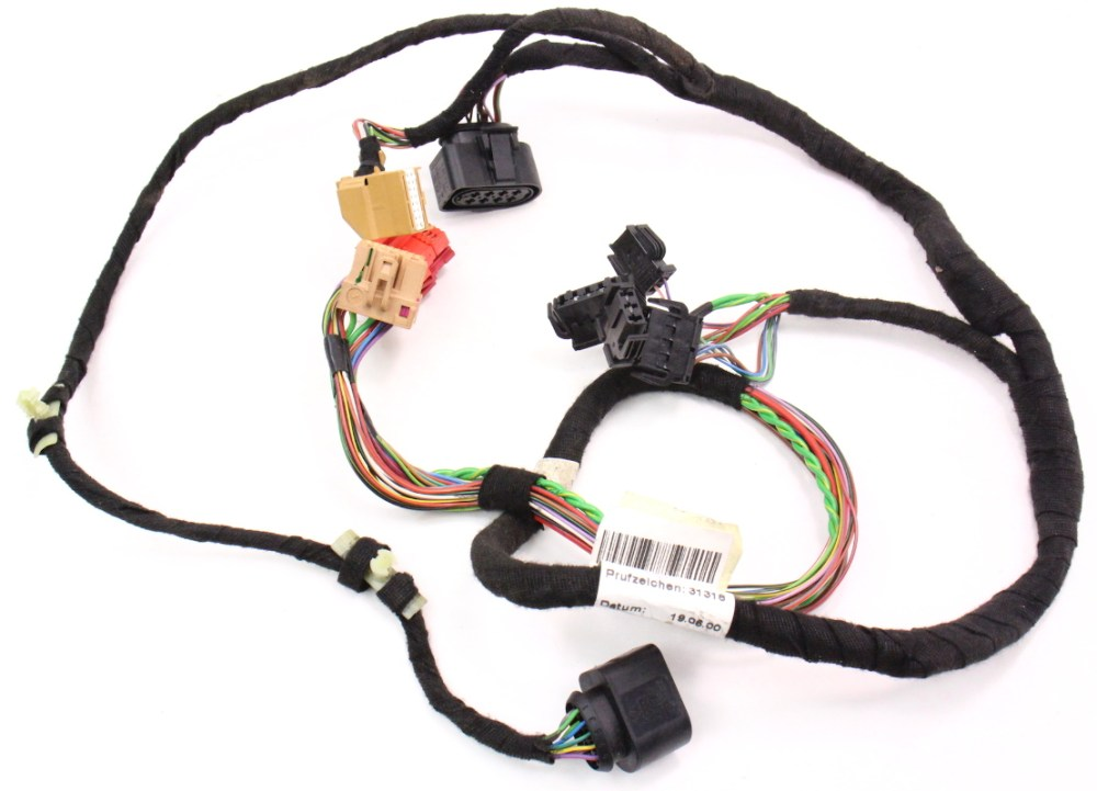 medium resolution of lh driver front door panel wiring harness 98 01 audi a6 c5 4b0 971