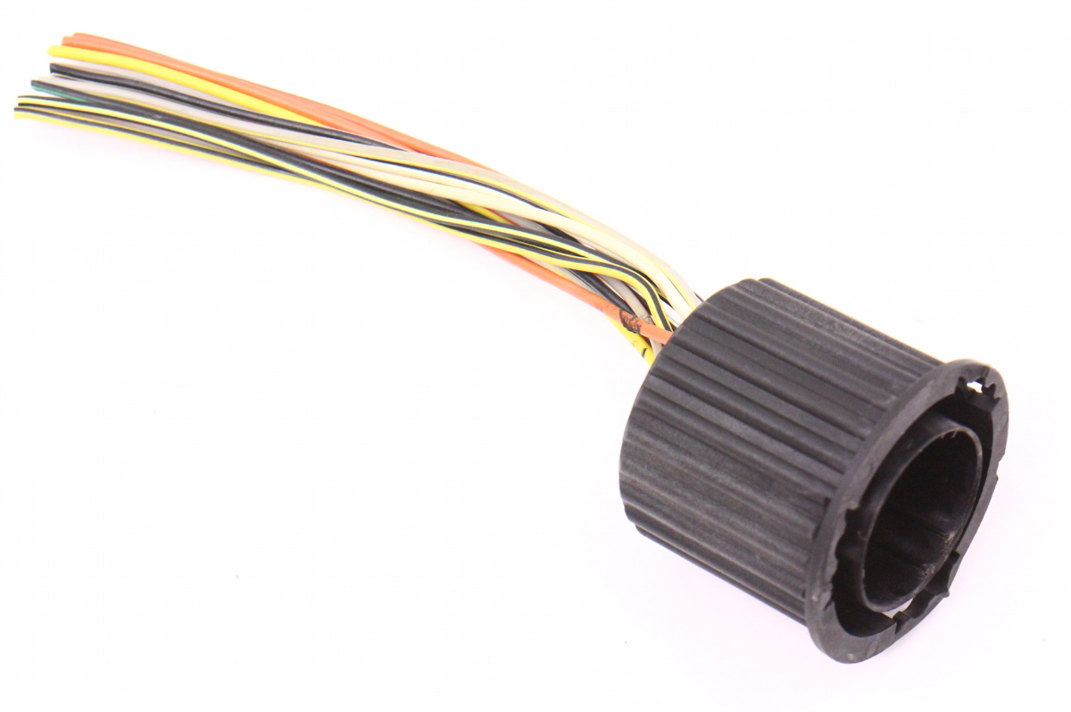 hight resolution of head light wiring harness round connector pigtail 93 99 vw jetta golf cabrio mk3