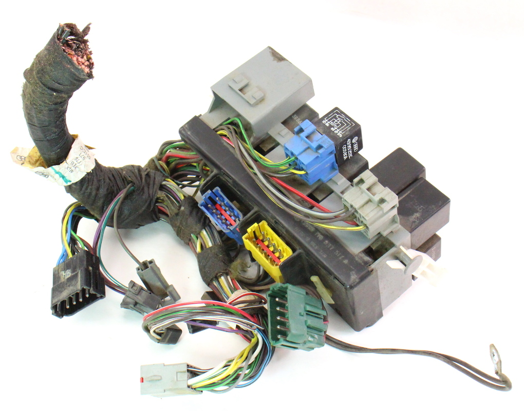 hight resolution of dash fuse box block relays wiring 85 87 vw golf gti mk2