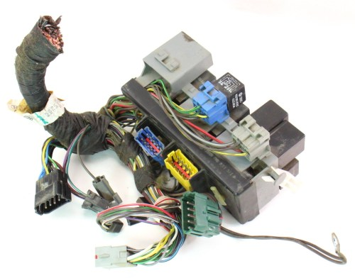 small resolution of dash fuse box block relays wiring 85 87 vw golf gti mk2