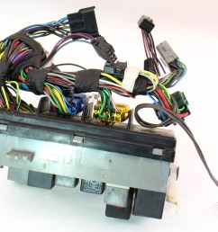 dash fuse box block relays wiring 85 87 vw golf gti mk2 [ 1002 x 800 Pixel ]