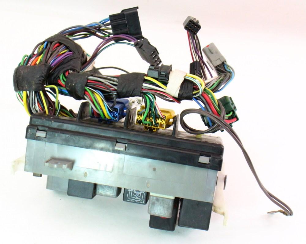 medium resolution of dash fuse box block relays wiring 85 87 vw golf gti mk2