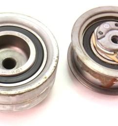 timing belt tensioner pulley 99 04 vw jetta golf mk4 alh 1 9 tdi carparts4sale inc  [ 1200 x 677 Pixel ]