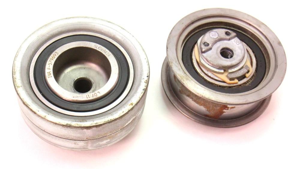 medium resolution of timing belt tensioner pulley 99 04 vw jetta golf mk4 alh 1 9 tdi carparts4sale inc