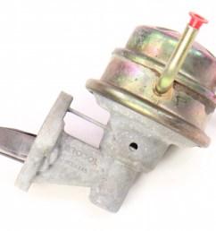 mechanical fuel pump 73 76 vw rabbit scirocco mk1 audi fox dasher brosal carparts4sale inc  [ 1200 x 755 Pixel ]
