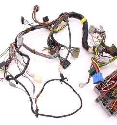 175 dash interior wiring harness fuse box 81 84 vw rabbit mk1 diesel  [ 1200 x 792 Pixel ]