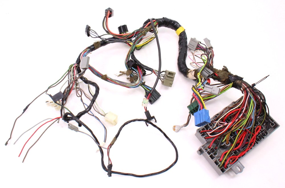 medium resolution of 175 dash interior wiring harness fuse box 81 84 vw rabbit mk1 diesel
