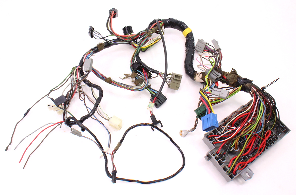 hight resolution of 175 dash interior wiring harness fuse box 81 84 vw rabbit mk1 diesel