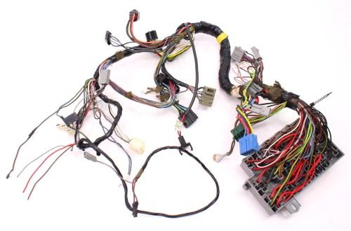 small resolution of 175 dash interior wiring harness fuse box 81 84 vw rabbit mk1 diesel
