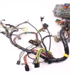 dash interior wiring harness fuse box 81 84 vw rabbit mk1 diesel  [ 1087 x 800 Pixel ]