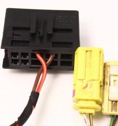 lh seat wiring harness plugs pigtails airbag 06 10 vw passat b6 genuine [ 991 x 800 Pixel ]