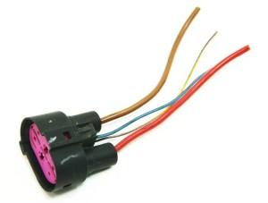 Cooling Fans Wiring Plug Pigtail VW Jetta Rabbit Golf GTI