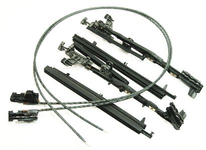 Sunroof Sun Roof Parts Track Cables Repair 05-10 VW Jetta
