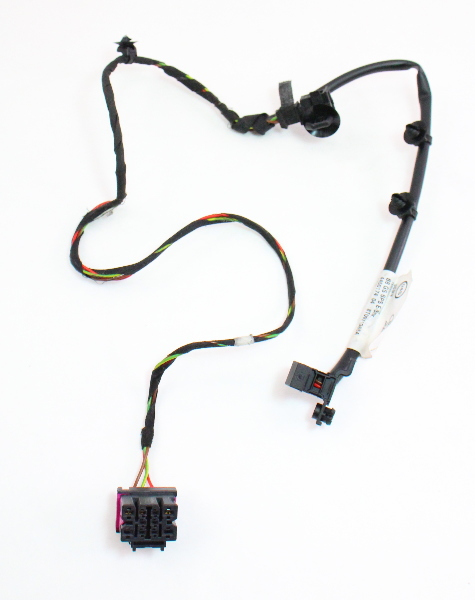 LH Seat Belt Warning Wiring Harness 09-15 Audi A4 S4 B8