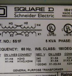 square d 5 kva transformer ph1 480 240 x 240 120 5s1f ebay wiring a potentiometer for motor wiring diagram 5s1f [ 1599 x 1066 Pixel ]