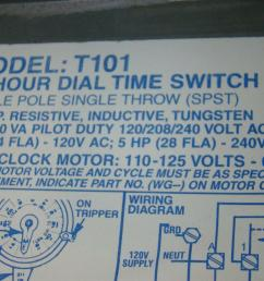 intermatic time switch single pole single throw 40amp 2hp 120v ac 5hp t101 [ 1599 x 1066 Pixel ]