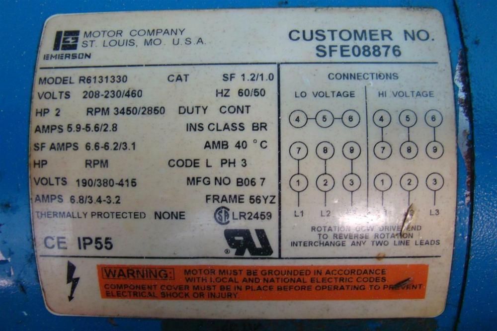 medium resolution of 230 460 volt motor wiring explained wiring diagrams 1 phase motor wiring diagram 230 460 motor