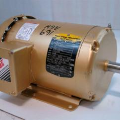 Baldor Reliance Super E Motor Wiring Diagram Leg Bones 2hp 208 230 460v 5 3 2
