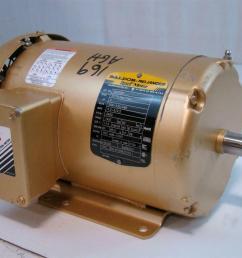 baldor reliance super e motor 2hp 208 230 460v 5 3 5 2 5amps 3490rpm baldor reliance industrial motor diagram 208 volts motor repalcement [ 1421 x 1066 Pixel ]