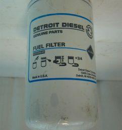 detroit diesel fuel filter 23530645 ebaydetroit diesel fuel filter 23530645 [ 799 x 1066 Pixel ]