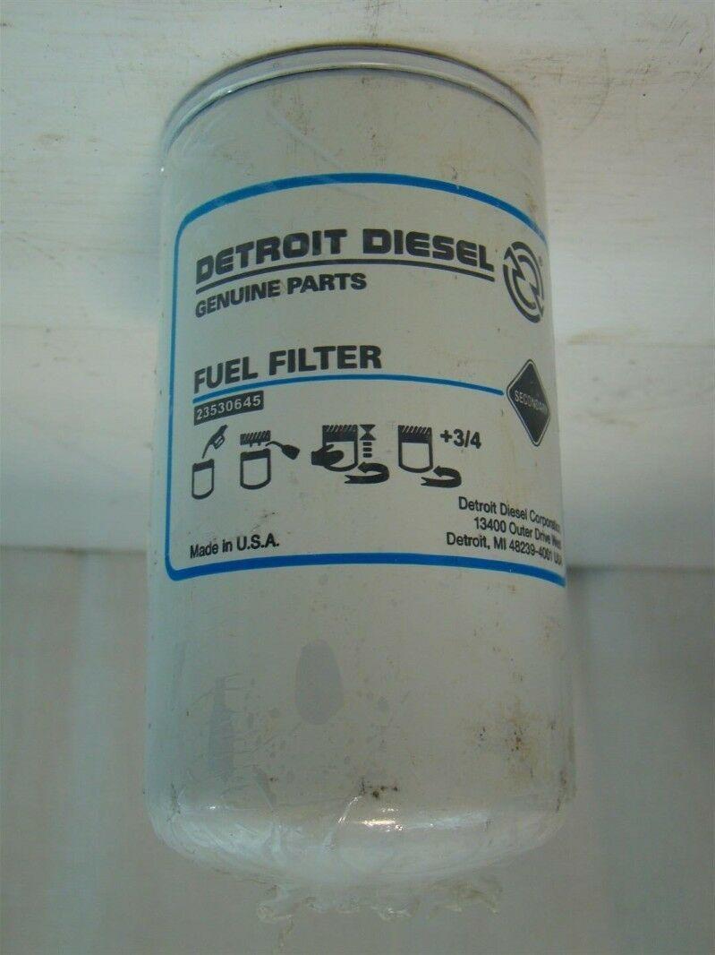 medium resolution of detroit diesel fuel filter 23530645 ebaydetroit diesel fuel filter 23530645