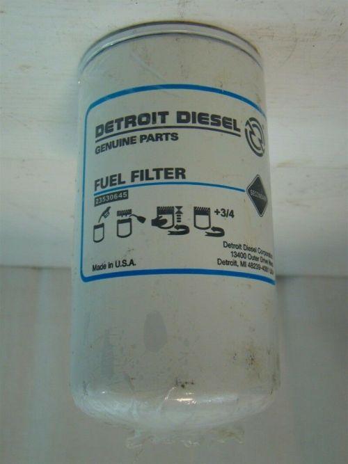small resolution of detroit diesel fuel filter 23530645 ebaydetroit diesel fuel filter 23530645