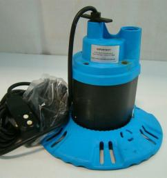 flotec submersible pool spa cover pump 115v 8 5amps 1 4hp 25 fp0s1790pca  [ 1421 x 1066 Pixel ]