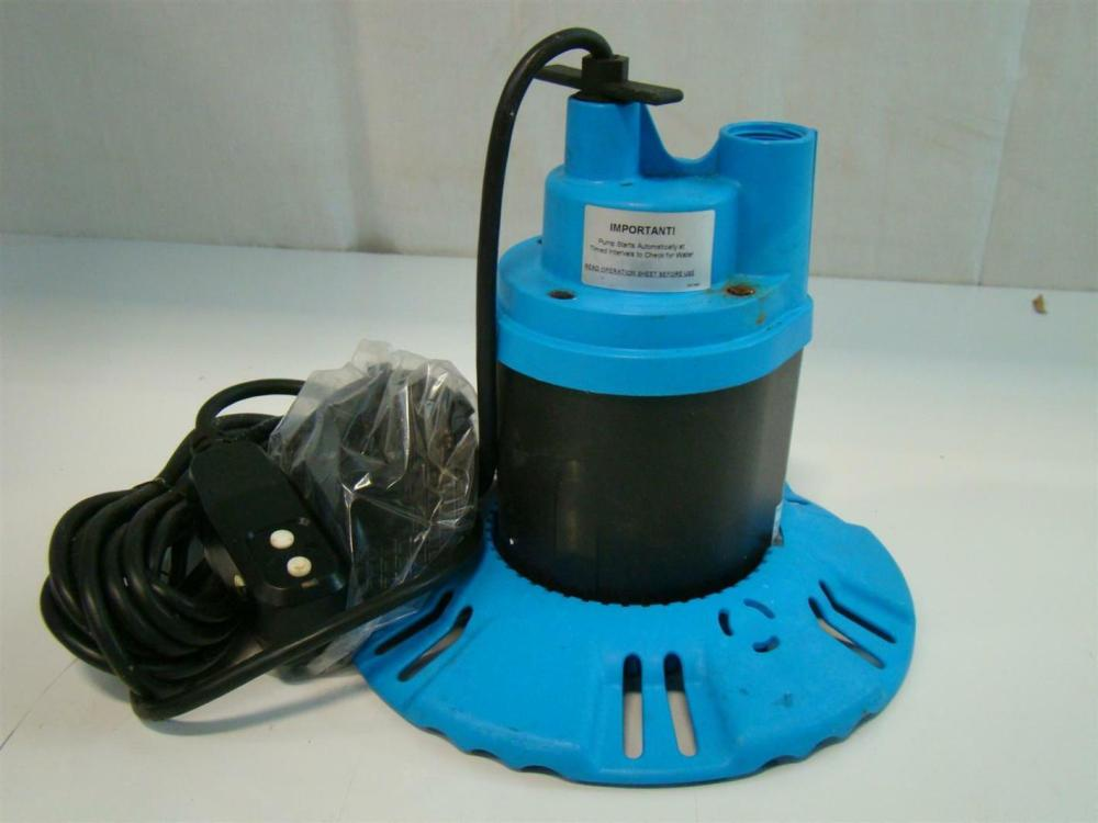 medium resolution of  flotec submersible pool spa cover pump 115v 8 5amps 1 4hp 25 fp0s1790pca