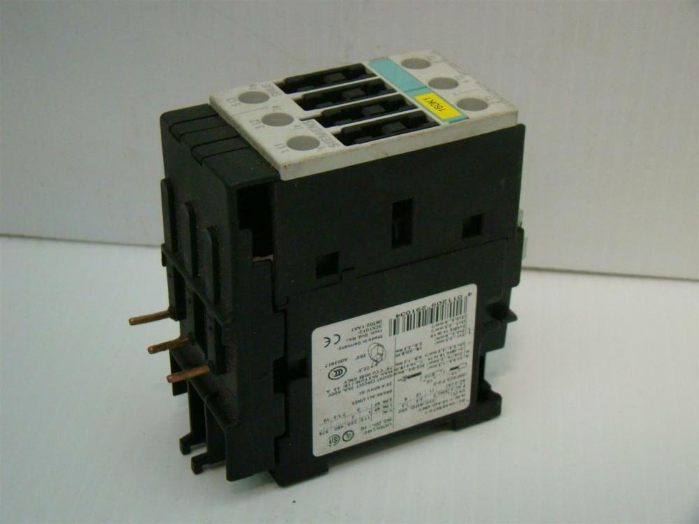 medium resolution of siemens contactor relay 35a 600vac 3rt1024 1b