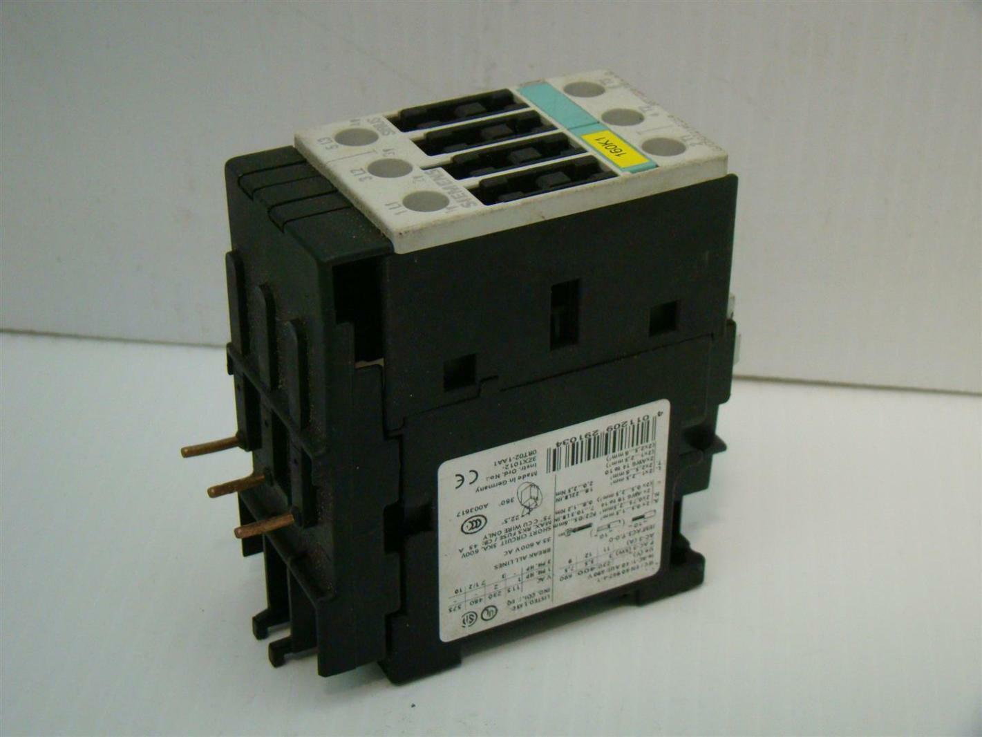 hight resolution of siemens contactor relay 35a 600vac 3rt1024 1b