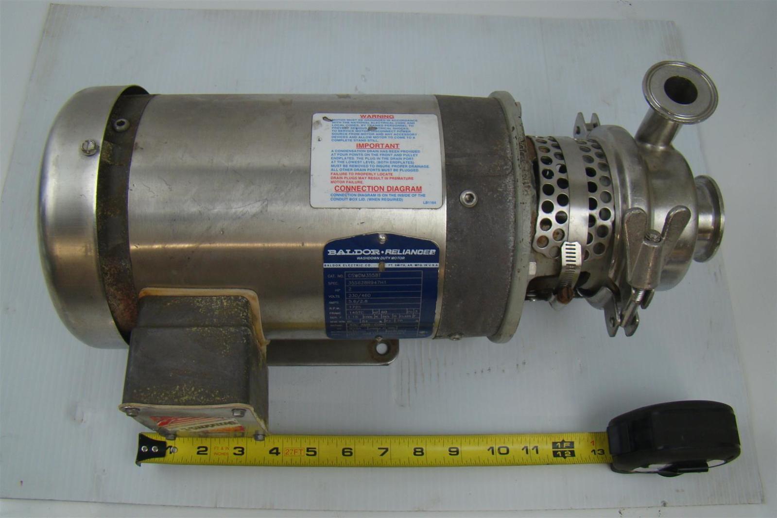 hight resolution of baldor motor 2hp 1725rpm 230 460v 5 6 2 8a 60hz 3phase