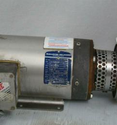 details about stainless centrifugal pump sanitary tri clamp baldor 2hp 3ph 35l466s811h2 [ 1599 x 1066 Pixel ]