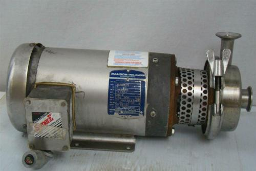 small resolution of details about stainless centrifugal pump sanitary tri clamp baldor 2hp 3ph 35l466s811h2