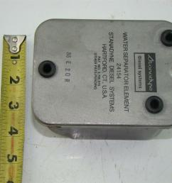stanadyne diesel fuel filter water separator system 24154  [ 1421 x 1066 Pixel ]