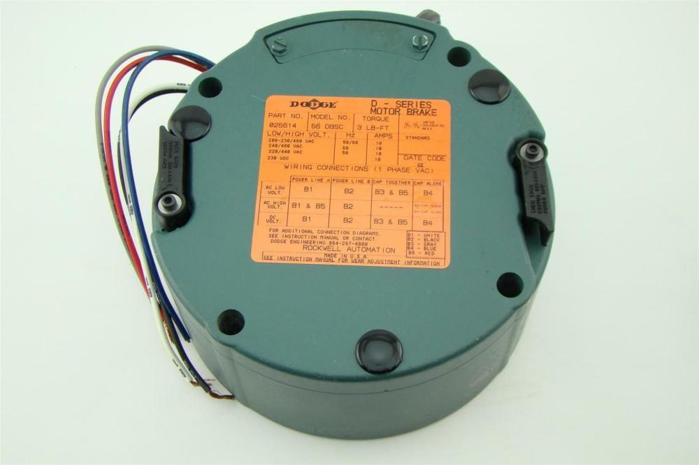 medium resolution of dodge d series motor brake 025614