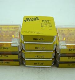 10 pcs buss fuses maxi fuse max 20 [ 1421 x 1066 Pixel ]