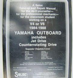 seloc yamaha outboard v 4 and v 6 repair manual 1984 1988  [ 800 x 1066 Pixel ]
