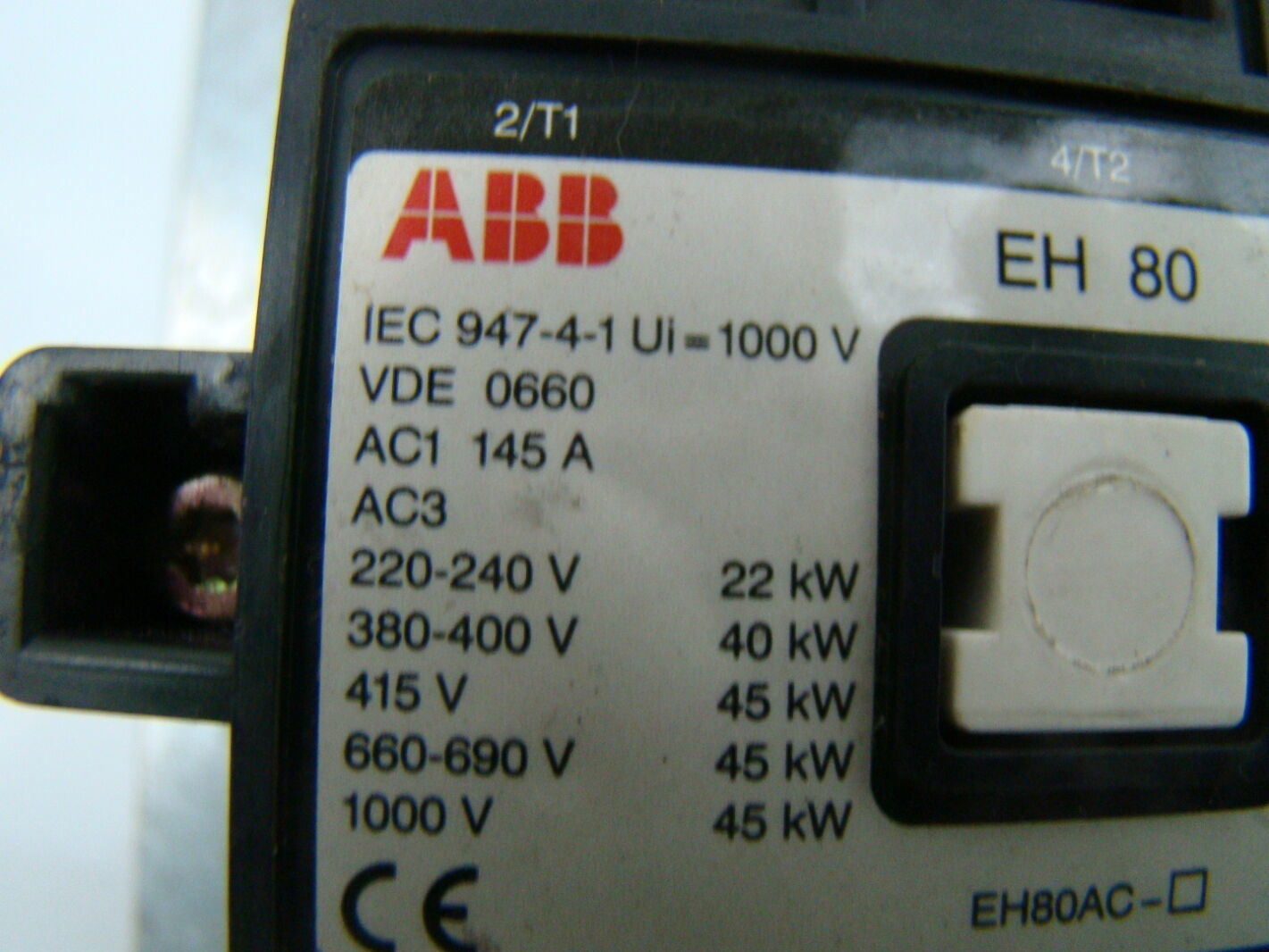 Abb 145 30 Contactor Wiring Diagram - abb contactori by ... Abb Caf M Wiring Diagrams on