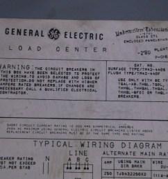 ge general electric tjd432400 400 amp main breaker load center 3 ph 240 vac  [ 1280 x 955 Pixel ]