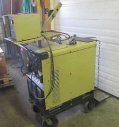 hobart rc 301 welder 300 amp with hobart 2210 wire feeder  [ 908 x 960 Pixel ]