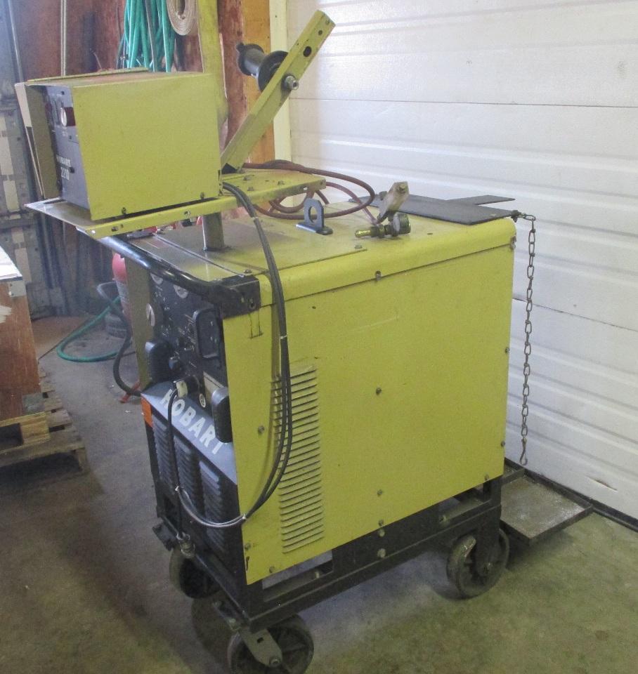 medium resolution of  hobart rc 301 welder 300 amp with hobart 2210 wire feeder