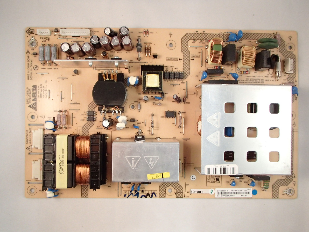 medium resolution of sanyo 42 dp42849 1av4u20c41500 power supply board motherboard