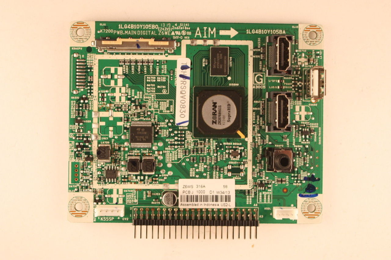 hight resolution of sanyo 50 dp50843 04 1lg4b10y105b0 z6ws digital main video board motherboard