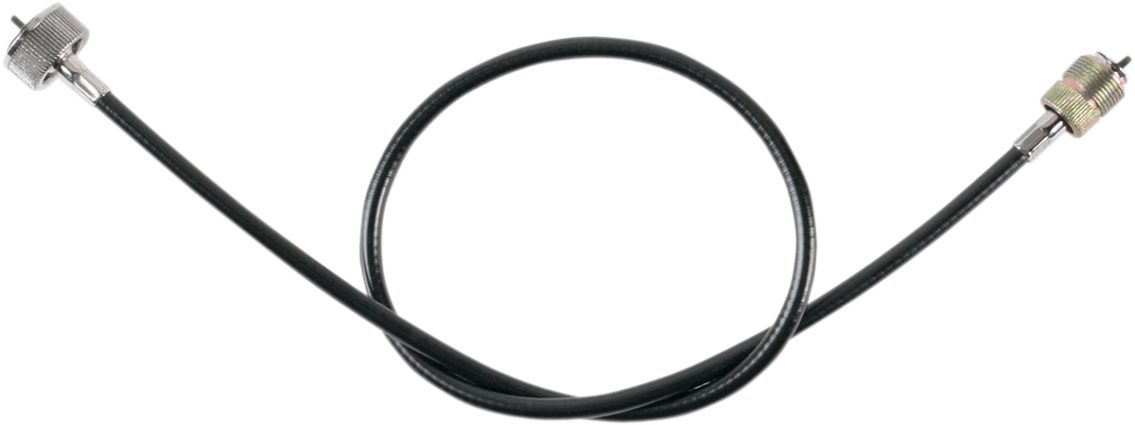 Drag Specialties Black Vinyl Speedo Cable for 75-99 Harley