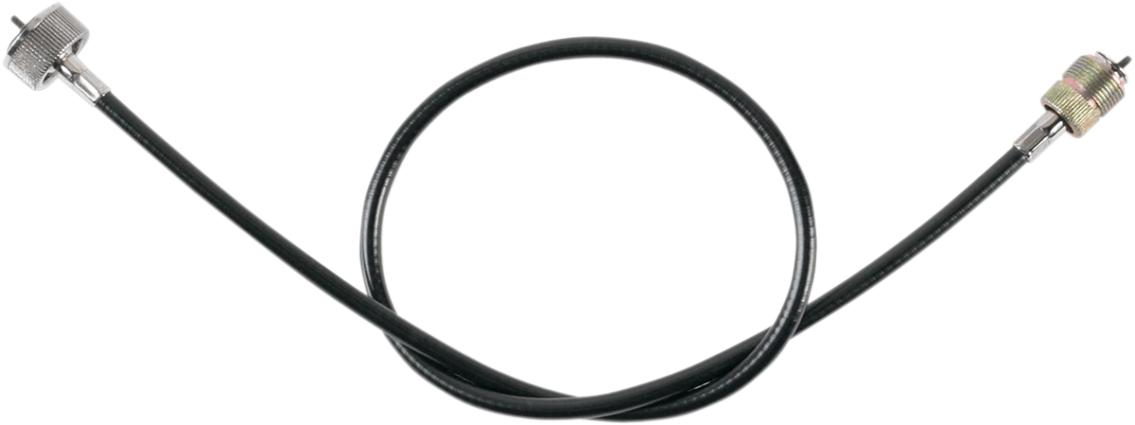 Drag Specialties Black Vinyl Speedo Cable 35