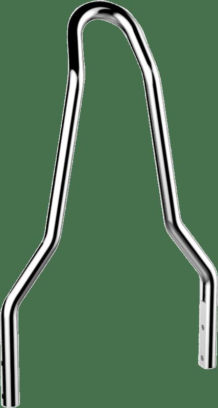 Drag Specialties Chrome Sissybar Sideplate Kit 06-17