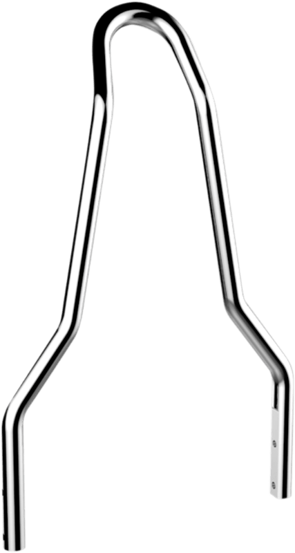 Drag Specialties Chrome Sissybar Sideplate Kit 84-99