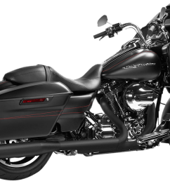 magnaflow 4 knock out black slip on exhaust muffler 95 16 harley touring fltr jt s cycles [ 1200 x 745 Pixel ]