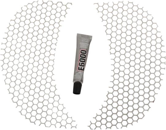 Klock Werks Honeycomb Front Fairing Vent Screen 14-19