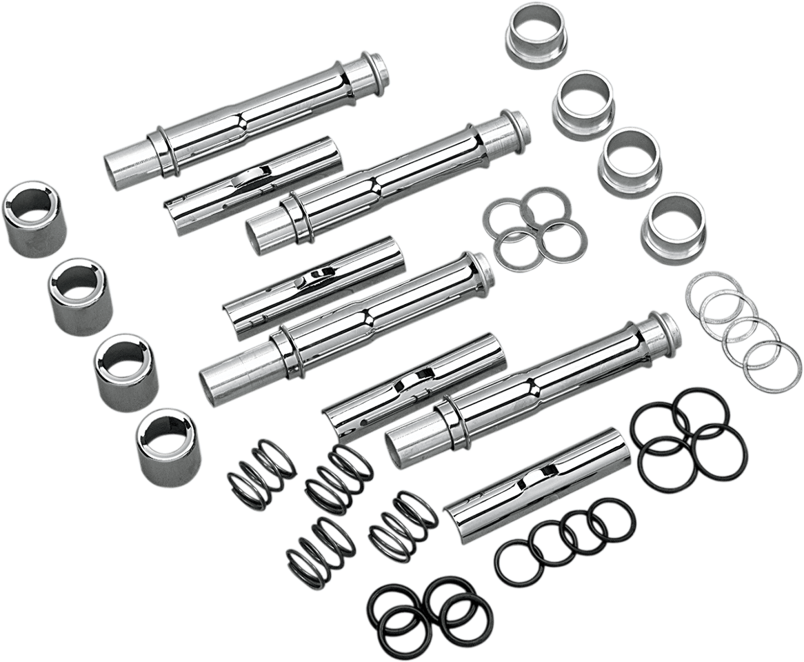 Colony Chrome 4 Pack Pushrod Tube Kit 91-03 Harley